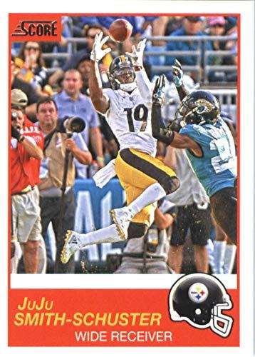 2019 Score #115 JuJu Smith-Schuster Pittsburgh Steelers Football Card