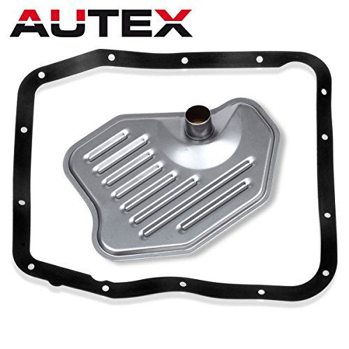 AUTEX 4R70W 4R75W Transmission Filter Service Gasket Kit Compatible With Ford F-150 & F-250 & Mustang
