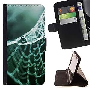 For Samsung Galaxy Note 3 III Case , Planta Naturaleza Forrest Flor 77- la tarjeta de Crédito Slots PU Funda de cuero Monedero caso cubierta de piel