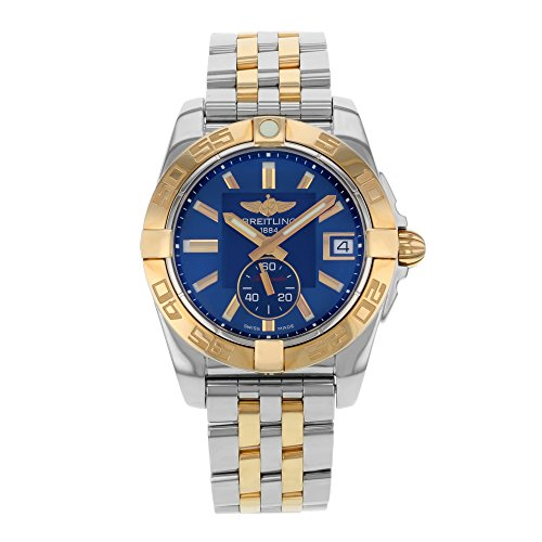 Breitling Women's BTC3733012-C831TT Galactic 36 Analog Display Swiss Automatic Two Tone Watch