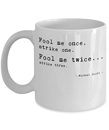 the office merchandise. Fool Me Once By Trinkets \u0026 Novelty The Office Merchandise. This 11-oz Tv Merchandise