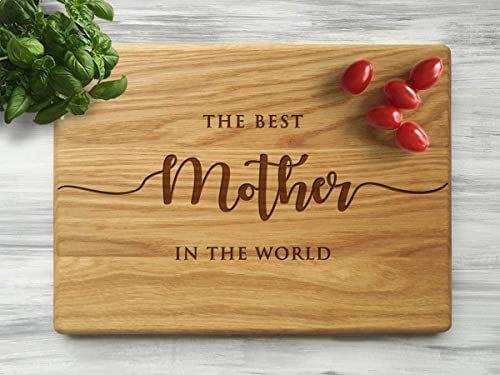 Amazon.com: Custom Cutting Board Mom Kitchen Mother's Day Gift Ideas for Mom Best Mom Birthday ...