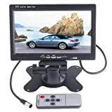 """Towallmark 7"""" LED Backlight TFT LCD Monitor for Car Rearview Cameras, Car DVD, Serveillance Camera, STB, Satellite Receiver and other Video Equipment"""
