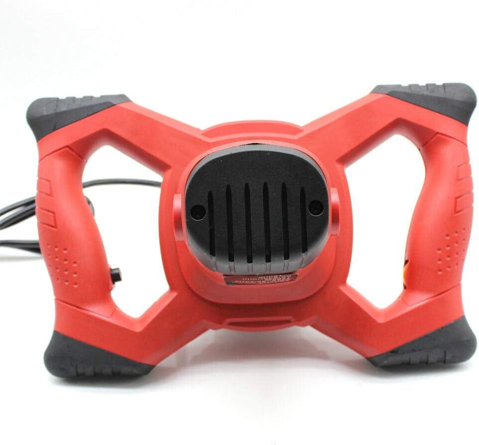 Thinset Mezclador profesional de mortero de cemento 1500 W 6 velocidades para hormig/ón construcci/ón en seco mortero color