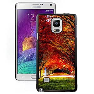 NEW DIY Unique Designed Samsung Galaxy Note 4 Phone Case For Woods Road 03 Phone Case Cover