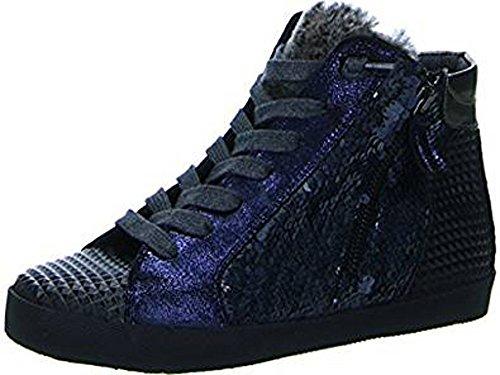 Damen Blau Stone Sneaker Carolina Donna Mix 7qxP8na