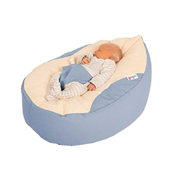 Brilliant Rucomfy Luxury Cuddle Soft Gaga Baby Bean Bag Dusk Pabps2019 Chair Design Images Pabps2019Com