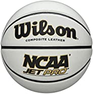 Wilson NCAA Jet Pro Basketball - White, 29.5&