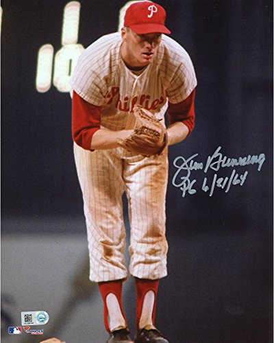 jim-bunning-philadelphia-phillies-autographed-8-x-10-standing-on-mound-batting-photograph-with-pg-6-