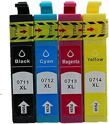 Befon T0711 T0712 T0713 T0714 T0715 XL Cartuchos de tinta de ...