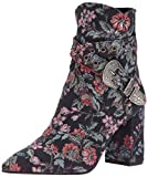 Badgley Mischka Women's Morrisey Ankle Boot, Navy Floral, 10 M US