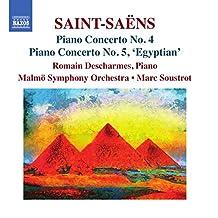 Saint-Saens: Piano Concertos Nos. 4 & 5 'Egyptian'