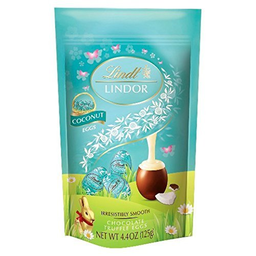 Lindt Lindor Easter Coconut Chocolate Truffle Eggs - 4.4oz