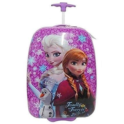 Amazon.com: Disney Frozen Elsa & Anna púrpura Shell duro ...