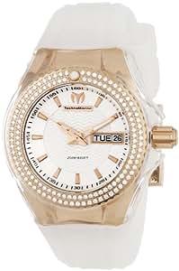 TechnoMarine Women's 110041 Cruise Original Star 3 Hands Silver Dial Watch