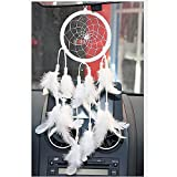 Helper007 Handmade Dream Catcher Net With feathers Wall Hanging Decorations 1 Piece Whit