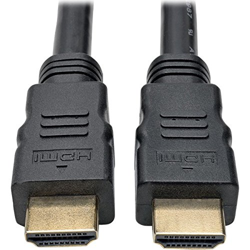 Tripp Lite Active High-Speed HDMI Cable with Built-In Signal Booster, 1920 x 1080 (1080p) @ 60 Hz (M/M), Black, 50 ft. (P568-050-ACT)