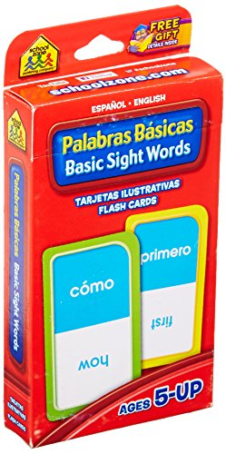 Sight Words Bilingual Flash Cards