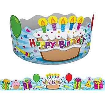 Carson-Dellosa CD-101021BN Coronas de cumpleaños, 30 ...