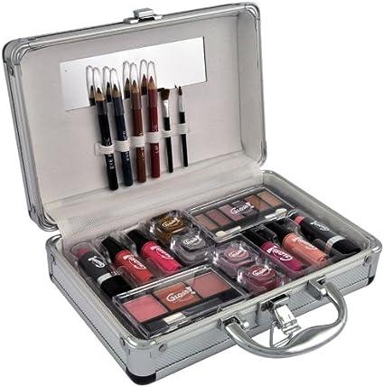 Gloss - caja de maquillaje, caja de regalo para mujeres - Maleta de Maquillaje - Fashion City - 27 Pzs: Amazon.es: Belleza