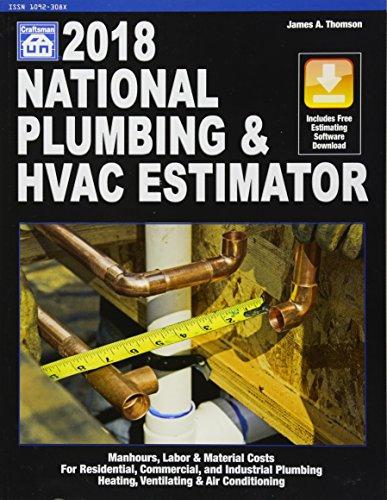 National Plumbing & HVAC Estimator 2018 (National Plumbing and Hvac Estimator) by Craftsman Book Co