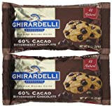 Ghirardelli Bittersweet 60% Cacao Baking Chips, 10 oz, 2 pk