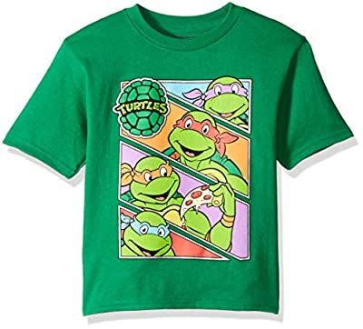 Nickelodeon Boys' Teenage Mutant Ninja Turtles Group T-Shirt Shirt