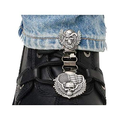 LACED BOOT TYPE (SKULL/WINGS)
