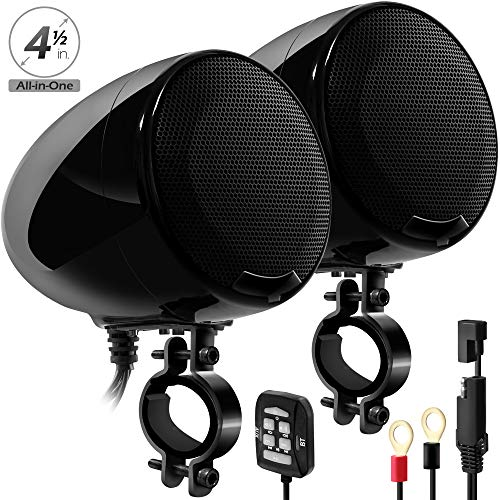 Stereo Accessories Speakers - GoHawk AN4-X 600W 2 Channel All-in-One Amplifier 4.5