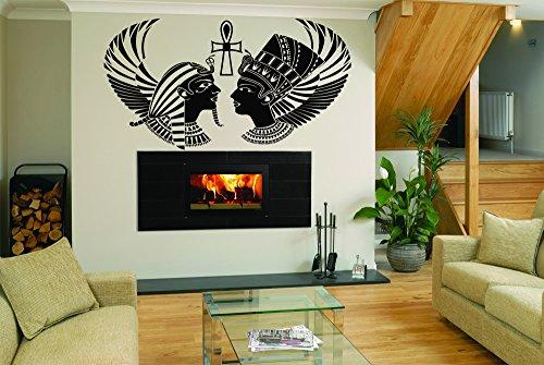 ecals Mural Room Design Pattern Art Bedroom Egypt Gods Ra Ankh Cross Ancient Culture bo2462 ()