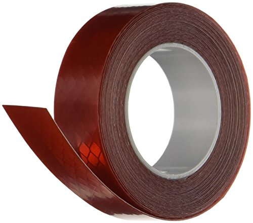 3M 3432 Red Micro Prismatic Sheeting Reflective Tape – 0.75 in. X 15 ft. Non Metalized Adhesive Tape Roll. Safety Tape