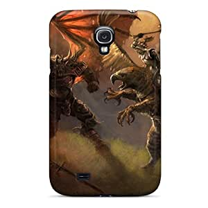 Series Skin Case Cover For Galaxy S4(demon King Vs Warrior)