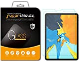 Supershieldz [2-Pack] for Apple iPad Pro 11 inch Screen Protector - [Tempered Glass] Anti-Scratch - Bubble Free - Lifetime Replacement (2018 Release) [Updated Version]