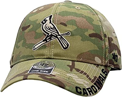 St. Louis Cardinals Hat Buckle Back Camouflage Myers MVP 11645