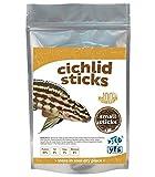 Cichlid Fish Food Sticks Small Mini 1mm Bulk Aquarium Advanced High Quality Ingredients 1/2 Lb to 1 Lb(choose Size) (1 Pound)