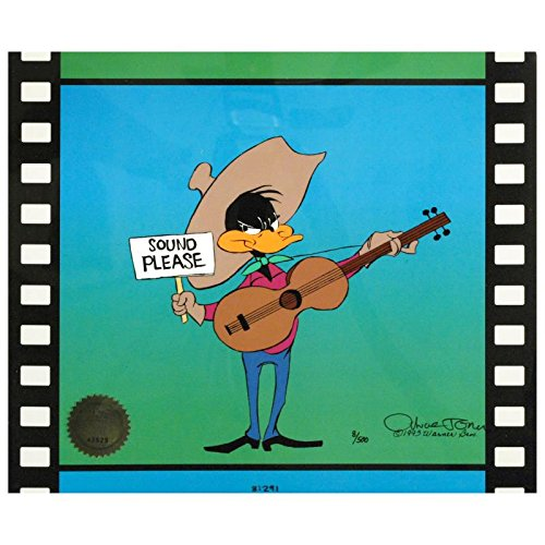 Chuck Jones Hand Signed! 'Sound Please' Hand Painted Sericel with COA Chuck Jones Hand Signed! Sound Please Hand Painted Sericel with COA