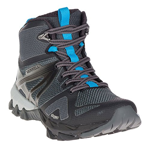 Flex Mid Womens Waterproof Gore ladies Walking Negro tex Boots Merrell Mqm xRPtw7xY