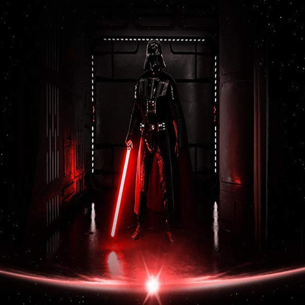 Mandalorianer Darksaber Lightsaber Spielzeug mit 11 elektronischen Lichtern und 3 Sounds die Klonkriege f/ür Kinderrollenspiele 5 und h/öher NANDAN Star Wars Lightsaber