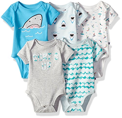 shark baby onesie - 4