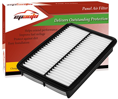 EPAuto GPA0A (PE07-13-3A0A) Mazda Replacement Rigid Panel Engine Air Filter for SkyActiv Mazda3 (2013-2018), Mazda6 (2014-2017), CX-5 (2013-2017)