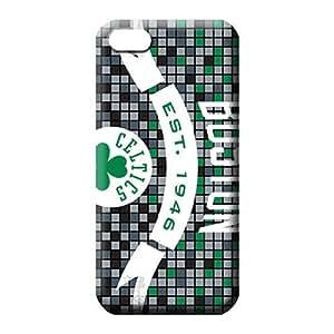 MMZ DIY PHONE CASEipod touch 5 Hybrid Durable Hot Style phone cover skin boston celtics nba basketball