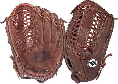 Worth D1 Series Dc1250 12 1/2-Inch Fastpitch Glove (Left-Hand Throw)