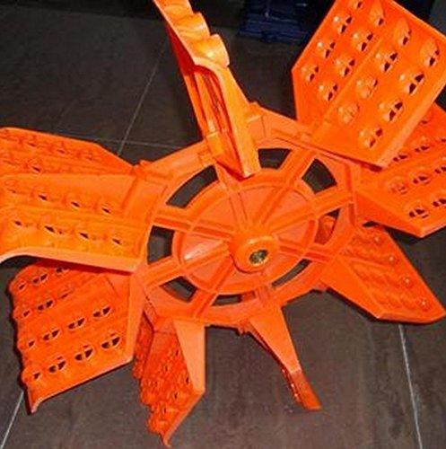 GOWE Paddel Wheel Aerator For Fish Oxygen 1