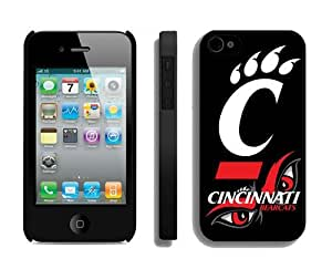 Cheap Iphone 4s Cover Ncaa Cincinnati Bearcats 07 Personalized Athletic Iphone 4 Cellphone Proective Case