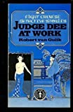 Judge Dee at Work, Robert H. Van Gulik, 0684161796