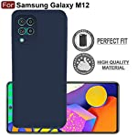 CEDO Samsung M12 / A12 / F12 Back Cover | Matte Soft Silicon Flexible | Camera Bump Protection | All Side Shock Proof…