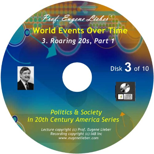 Collection Roaring 20s (Roaring 20s, Parts 1 & 2 (Politics and Society in 20th Century America Series: World Events Over Time Collection))