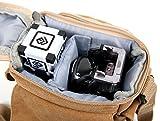 DURAGADGET Light Brown Medium Sized Canvas Carry Bag for The Anki Cozmo & Anki Vector