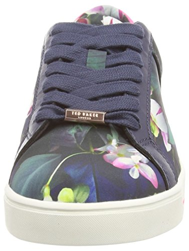 Eyewo Baker fuchsia Ted Sneakers Multicolore Print Basses Femme Zgdqdw5