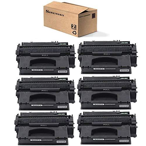 (Sirensky 49X Q5949X Toner Cartridge 6 Pack Replacement for Laserjet 1320 1320n 1320t 1320tn 3390 3392 P2014 P2015 P2015d P2015dn P2015x M2727nf Series Printers, Brand)
